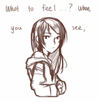 what to feel...? by kokoriste1