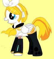 My Little Pony: Friendship is Magic - Kagamine Rin by YourTwistdReflection