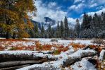 Yosemite Half Dome by Camel51