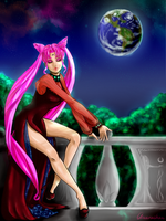 Black Lady - Lost in the silver time by Vivid-K