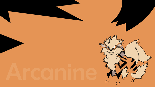 Arcanine Wallpaper by juanfrbarros