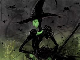 Wicked Witch of the West Oz the great and powerful by favius