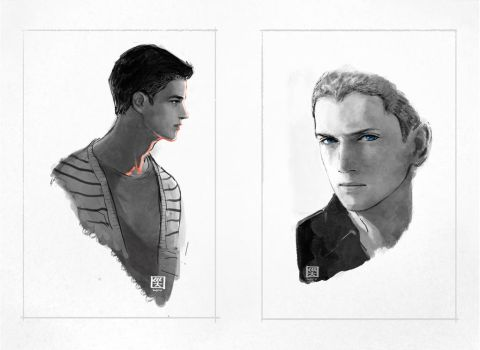 ColdFlash: Portraits by mick347