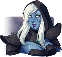 Drow by dust-bite