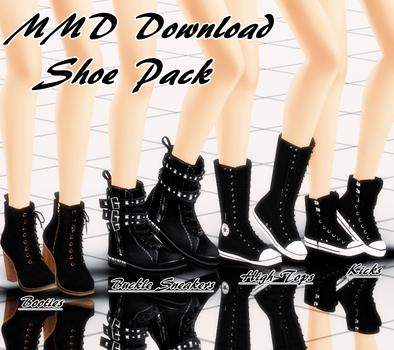 {MMD Download} Female Shoe Pack by MariCorsair