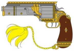 C.O.G. - Applegarth's Pistol by MaraAum