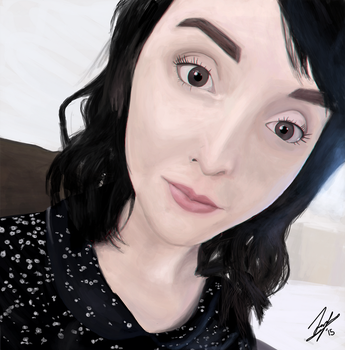 Photostudy Of A Friend by JustinTheEnd
