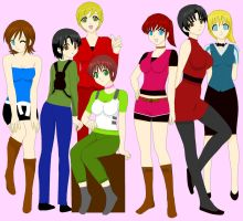 Resident Evil Girls by RE4me95