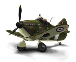 Toon Spitfire Concept by Scifer