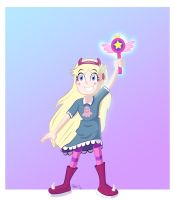 STAR VS THE FORCES OF EVIL +VIDEO by IDROIDMONKEY