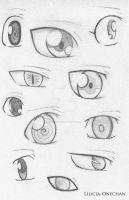 Some Kind Of Eyes 2 by Lilicia-Onechan