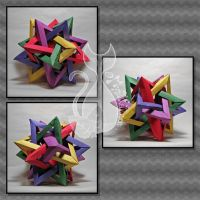 Tetrahedra Dodecahedron by MyntKat