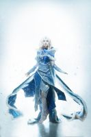 Rylai the Crystal Maiden Cosplay by AkinaGasai