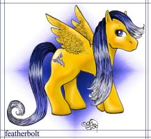 MLP -- Featherbolt Color by evafortuna