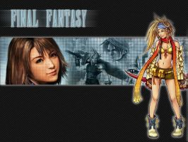 Final fantasy - All games by micro-fanta