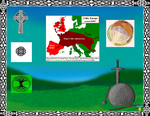 pre christain celtic english isles poster by swordfetish