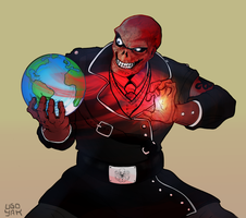 Red Skull by ugoyak