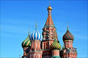 Domes of the Saint Basil's Cathedral II by Esse-light