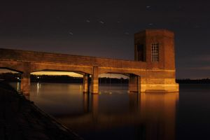 Night Water Tower by ChrisDonohoe