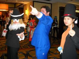 Professor Layton VS Ace Attorney by KatyMerry