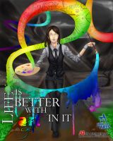 Life is Better With Art in It by rikarai