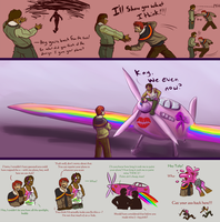 End Run Round One Aftermath: Pink Karma by Jeeaark
