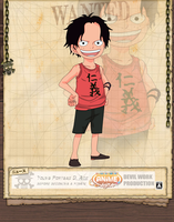 Portgas D. Ace kid by Devil by devil-one-naruto