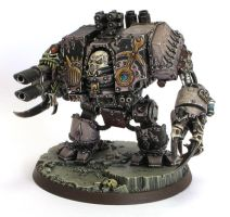 Slaanesh Helbrute Chaos dreadnought by daouide
