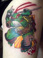 Ninja Turtle tattoo by Juliano-Pereira