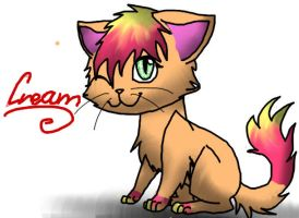 Cream the Kitty by Sahirathedragoness