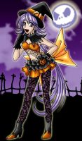 Halloween + Ilaria by Aiko-Mustang