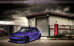 peugeot 206 by sumar4e