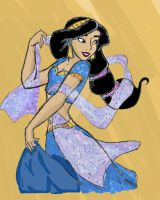 Disney's Jasmine-colored. by jellybeanflair