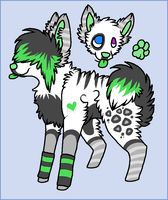 Scene Dog Adopt -CLOSED- by Kaomi-Adopts