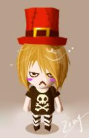 xD RUKI character on facebook by Alzheimer13