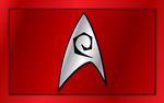 Star Trek Engineering Emblem Wallpaper by tempest790