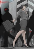 Mai, as a Business Woman by Zarory