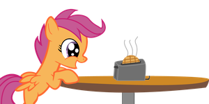 EQD ATG Day 10: Chicken and waffles by HeartbeatWithNoSound