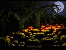 One Halloween Night by Digital-Virtuosity