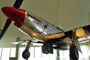 P51 Mustang - RAF Museum by PhilsPictures