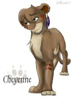 Cheyenne smiles by kira617