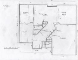 Floor Plan of my House by Squeemishness