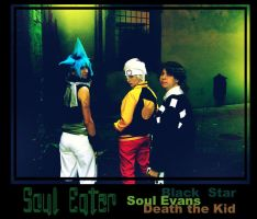 Soul Eater: Death City by Riunien