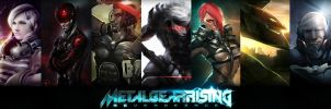 Metal Gear Rising Artjam! by darkeyez07