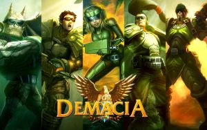 DemacianCommandoForDEMACIA by K4tEe