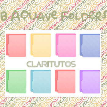 Aquave Folders by ClariTutos