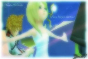 Namine and Ventus by Graces87