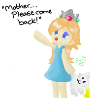 """Please come back....."" by Peach-X-Yoshi"