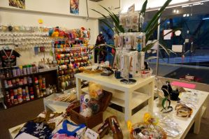 Costume tailor store interior by tarynsgate