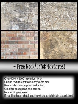 FREE! 4 Texture pack by Deckboy